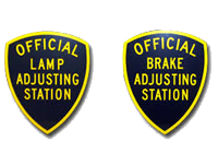 Official Lamp & Brake Adjusting Station