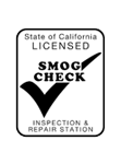 State of CA Licensed Smog Check Inspection & Repair Station